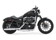 Harley-Davidson USA Sportster 883 #Harley Davidson #Sportster #matte black #motorcycle