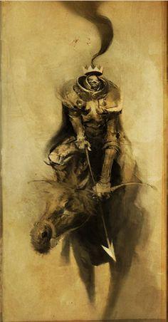 Ashley Wood - Heavy Metal Artwork