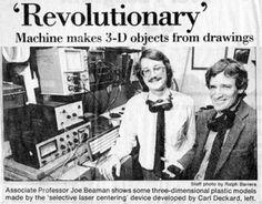 Photo Gallery: The History of 3-D Printing [SLIDESHOW] | IndustryWeek
