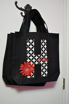 PERSONALIZED TOTE BAG  http://theautocrathaley.blogspot.com/2010/06/personalized-tote-bag-part-2.html