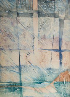 """RENINA KATZ - (1925)    Título: """"Alfa""""  Técnica: litografia  Tiragem: 92/250  Medidas: 67 x 48 cm  Assinatura: canto inferior direito"""
