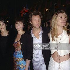 Demi Moore, Annabella Sciorra, Jon Bon Jovi, and Dorothea Bongiovi (1997). @brokenpromiseland | Instagram.
