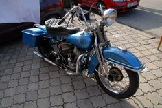 Harley davidson old model