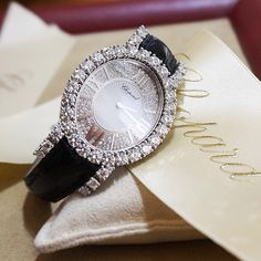 Chopard diamond watch