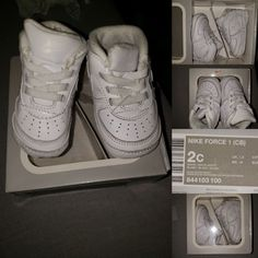 Baby s sneakers by Nike air size 2c for Sale in Richmond 7e499e8be
