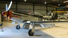 """P-51D Mustang, """"Wee Willy II"""", USAAF, WW2. Planes of Fame, Chino. Photo by Patrick Mack."""