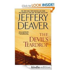 "The Devil's Teardrop by Jeffery Deaver. Excellent read. If I'm not mistaken they even made a ""made for television"" movie out of this book!"