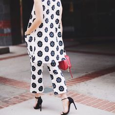 Pattern fun 2015 Trends, High Fashion, Harem Pants, Jumpsuit, Ootd, Street Style, Contemporary, Retro, Chic