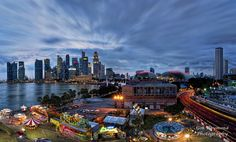Blue Hour @ River Hongbao Night Photography by GohRaymond Photography on 500px