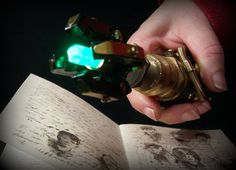 Sonic screwdriver inspired steampunk device by TheTimeCabinet