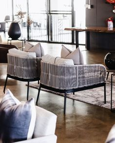 """WUNDERS JOHANNESBURG on Instagram: """"All in on the patio living for Spring? We have a range of outdoor chairs and sofa's to ensure your outdoor spaces are as stylish your…"""""""