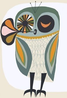 another cool owl print