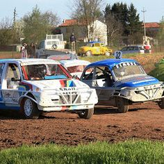 Strage kind of race named Stock Car Cross.   Only in Italy, near Padua