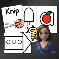 Knipwerk, Alfabet, Graad R, Graad 1, Voorskool
