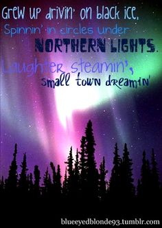 That's right. I'm a northern girl!