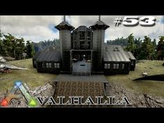 Building Fresonis castle with a bit of a design difference - Modded ARK: Survival Evolved Episode 53 - YouTube