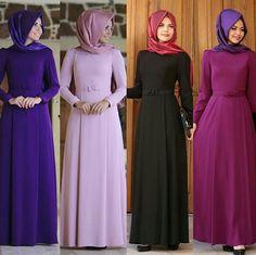 Annahar Comfortable Dress Price 80 Dolars We send worldwide Whatsapp 05533302701 Modest Long Dresses, Modest Outfits, Islamic Fashion, Muslim Fashion, Abaya Fashion, Fashion Dresses, Abaya Designs, Islamic Clothing, Mode Hijab