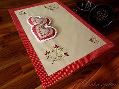 . Fabric Journals, Applique Fabric, Fabric Art, Textiles, Tableware, Folk, Dinnerware, Popular, Tablewares