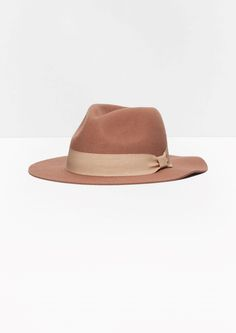 & Other Stories | Wool-Felt Fedora Hat