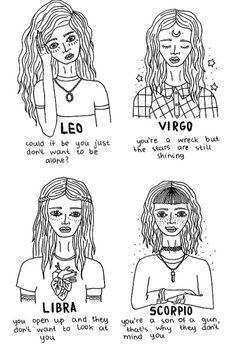 im sorta in between leo & virgo but i love all of these (: