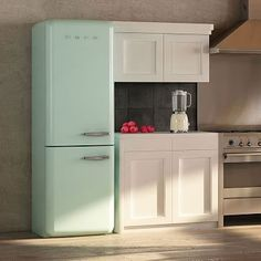 SMEG Two-Door Refrigerator #westelm