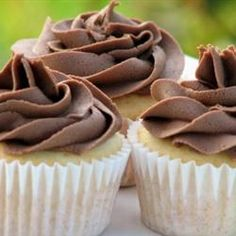 Chocolate Buttercream Frosting.... Delish. Seriously the best chocolate buttercream recipe I've found.