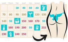 Le calendrier du squat
