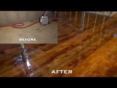 How to Make a Concrete Floor Look Like Hardwood   TipHero