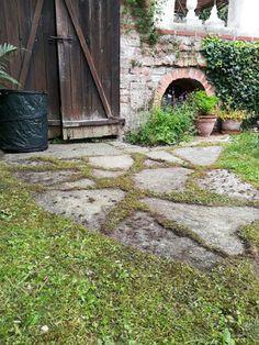 donauluft: garden says no. Edible Garden, Stepping Stones, Gardening, Outdoor Decor, Stair Risers, Lawn And Garden, Vegetable Gardening, Vegetable Garden, Horticulture