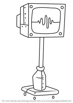 How to Draw Karen from SpongeBob SquarePants - Dra Spongebob Characters Drawings, Easy Cartoon Drawings, Art Drawings For Kids, Art Drawings Sketches Simple, Disney Drawings, Easy Drawings, Spongebob Painting, Cartoon Painting, Wie Zeichnet Man Spongebob