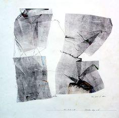 1983-L-D-18monotype print, drawing 林孝彦 HAYASHI Takahiko 1983