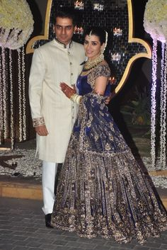Ever wonder what your wedding attire would look like if your uncle was one of the most famous fashion designers in the world? Well wonder no more as famed designer Manish Malhotra's niece, Rriddhi Malhotra, wed Tejas Talwalkar last week in Mumbai. The star studded celebrations drew in Bollywood royalty including Sridevi, Priyanka Chopra, Sophie Choudry, […]