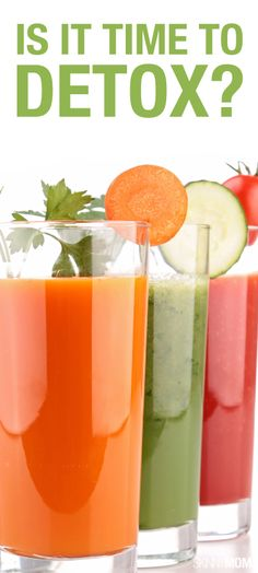See if your body is ready for a healthy detox.  Dr. Oz tells us how to do it here!