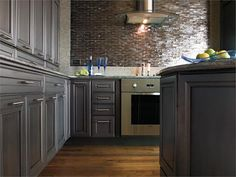 Kitchen designs with dark grey cabinets dark grey kitchen cabinets by cabinetry kitchen ideas with dark . kitchen designs with dark grey Painting Laminate Kitchen Cabinets, Dark Grey Kitchen Cabinets, Brown Cabinets, Kitchen Cabinets In Bathroom, Grey Kitchens, Kitchen Cabinetry, Kitchen Grey, Ikea, Apartment Therapy