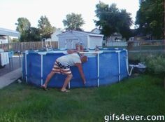 La forma más rápida de vaciar una piscina
