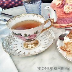 """Tea time wedding... ou """"comment se créer un mariage royal ?"""" Bientôt sur Pronupsims.net 🌸"""