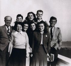thosekennedys:  The smiling Kennedy's