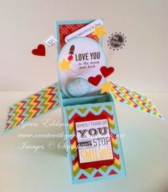 Create with Gwen, Stampin' Up! Demonstrator, Gwen Edelman, Create with Gwen: Valentine in a Box!