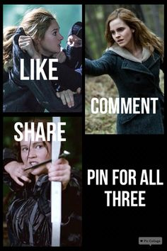 Pin for all three