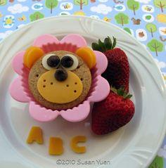 cute kids snacks | ... Snack #122 | Hawai`i's Bento Box Cookbook, Bentos and More for Kids