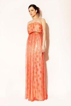 Nadine Zeni S/S 2012, Love the Indian Inspired Dress