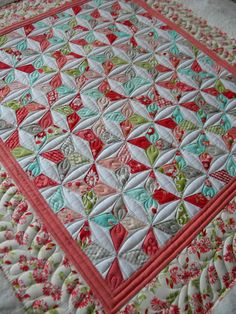 quilting | ... cute little quilt is Lisa's and I had a lot of fun quilting it up