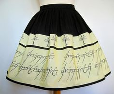 LORD OF THE RINGS skirt