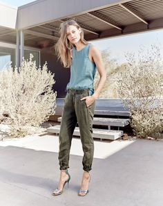 J.Crew – Slouchy boardwalk pant