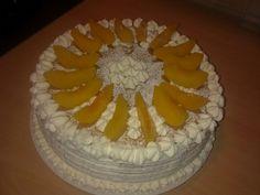 Pfirsich-Sahne-Torte