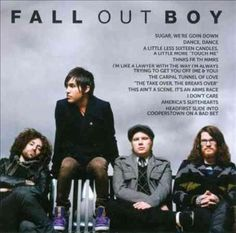Fall Out Boy - Icon: Fall Out Boy, Brown