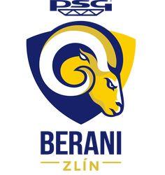 Aukro Berani Zlin Primary Logo on Chris Creamer's Sports Logos Page - SportsLogos. A virtual museum of sports logos, uniforms and historical items. Hockey Logos, Sports Logos, Virtual Museum, Psg, Team Logo, Branding Design, History, Wallpapers, Ideas