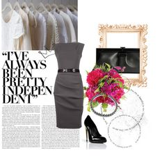 """""""Sexy CEO"""" by kbelliston on Polyvore"""