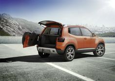 Volkswagen's new Taigun compact SUV concept has a redesigned rear
