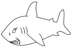 How To Draw Cartoons: How to Draw a Shark